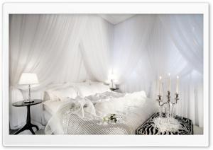 White Romantic Bedroom