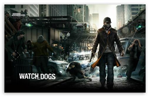 Download Watch Dogs HD UltraHD Wallpaper