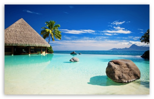 Download Somewhere In The Maldives UltraHD Wallpaper