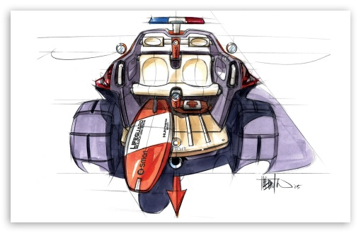 Download Smart Rescue Sketch UltraHD Wallpaper