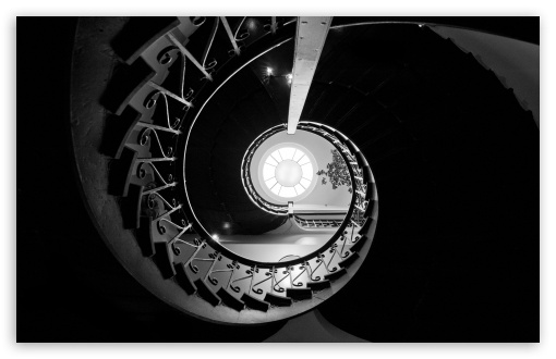 Download Looking Up The Staircase at Carnegie Centre,... UltraHD Wallpaper