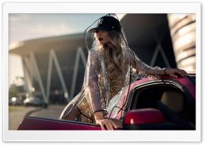 Fast Car Beautiful Woman