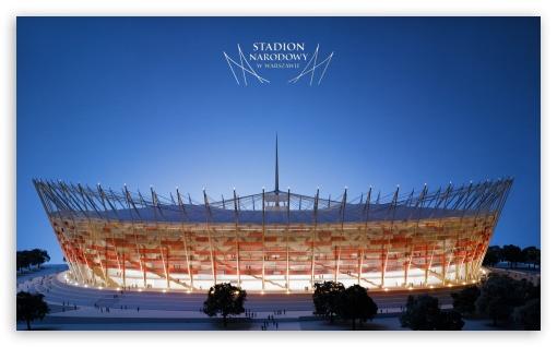 Download The National Stadium in Warsaw - UEFA Euro 2012 UltraHD Wallpaper