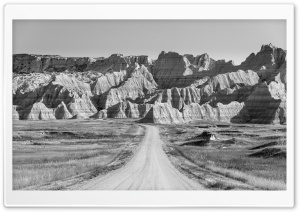 Road to Badlands National...