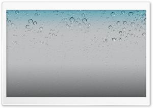 IOS 5 Wallpaper - Water Drops