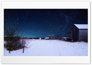 Impressive Snowscape with...