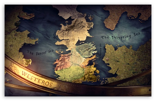 Download Game of Thrones Map of Westeros. UltraHD Wallpaper