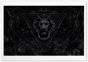 Dark Gothic Lion