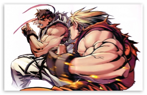 Download Ryu vs. Ken UltraHD Wallpaper
