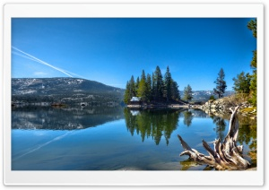 Lake in California USA