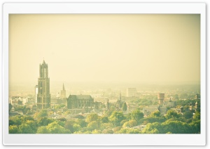 Hazy Utrecht, View From The...