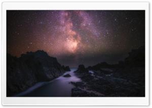 Sea, Rocks, Milky Way Galaxy,...