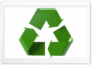 3D Recycle Logo