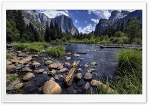 Merced River and Yosemite Valley