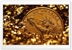 Liberty Buried In Gold