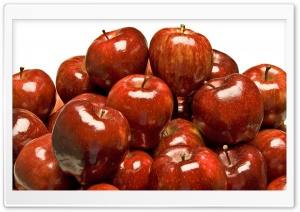 Shiny Red Apples