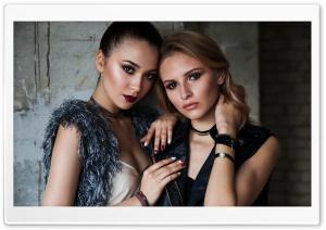Two Beautiful Models Girls