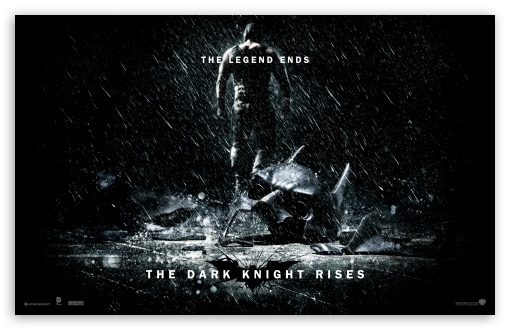 Download The Dark Knight Rises The Legend Ends UltraHD Wallpaper