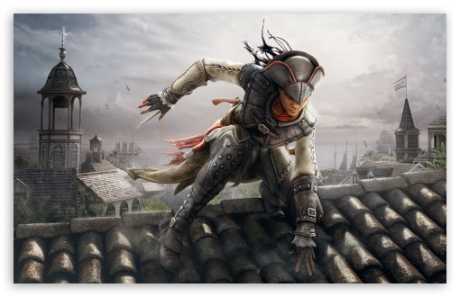 Download Assassins Creed III: Liberation UltraHD Wallpaper