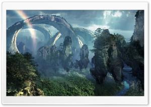 Flying Mountains Of Pandora