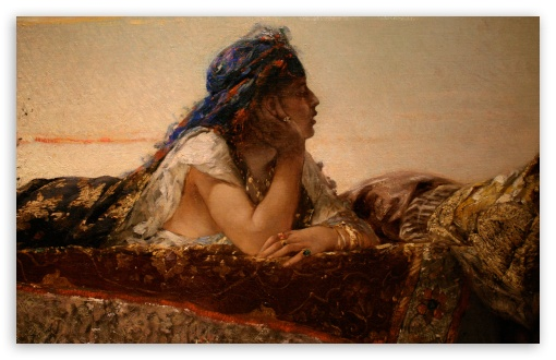 Download Woman Painting   Montreal Museum Of Fine Arts UltraHD Wallpaper