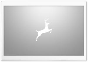 Simple Deer Art Gray