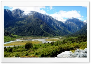 View from Creamy Creek- NZ south