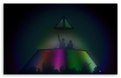 Download Daft Punk Pyramid UltraHD Wallpaper