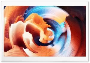 3D Abstract Broken Shell