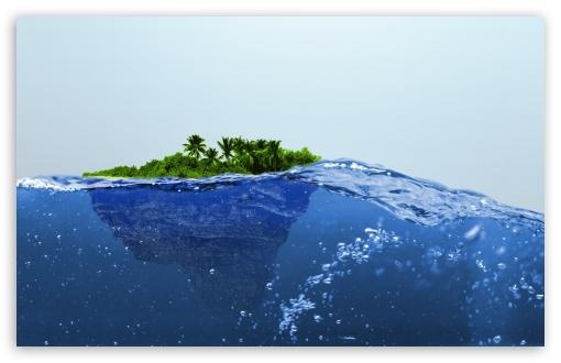 Download Island UltraHD Wallpaper