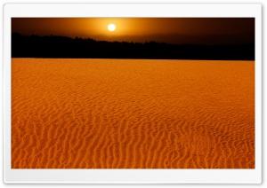 Sand Dunes Miramar Argentina