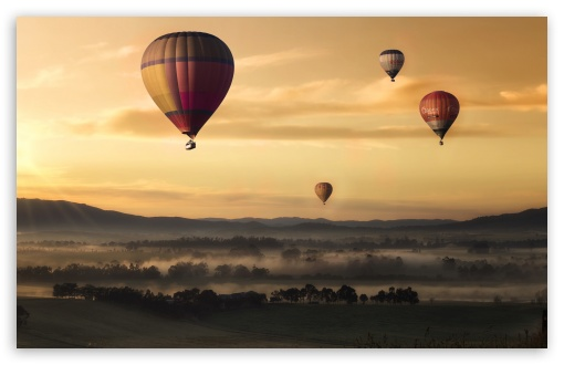 Download Hot Air Balloons UltraHD Wallpaper