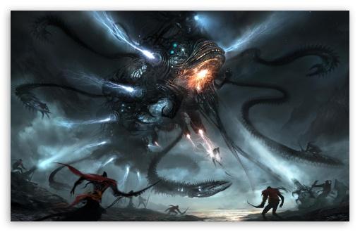 Download Alien Killer UltraHD Wallpaper