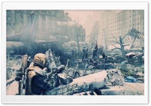 Metro Last Light Art