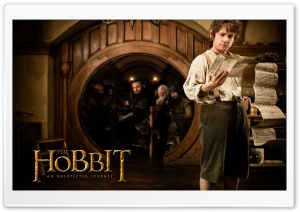 Bilbo Baggins in The Hobbit...