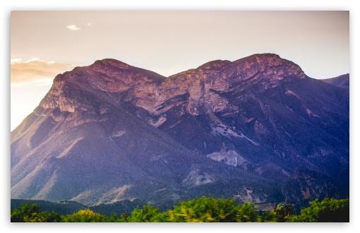 Download Purple Mountain UltraHD Wallpaper