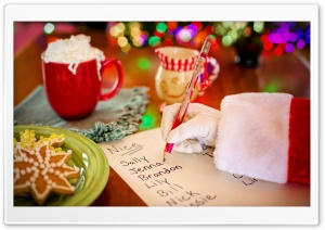 Santa's List for Kids