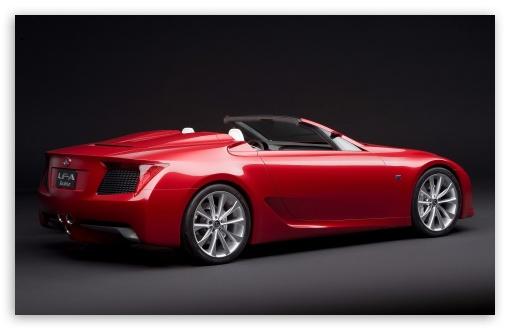 Download Lexus LF A Roadster Car UltraHD Wallpaper