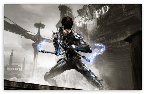 Download Batman Arkham Knight Nightwing UltraHD Wallpaper