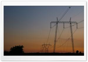 Eletronic Pilon on Sunset