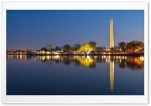 Washington DC Memorials at Night