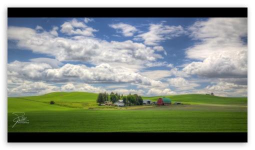 Download Farm on Joe Babbitt Road between Colfax and... UltraHD Wallpaper