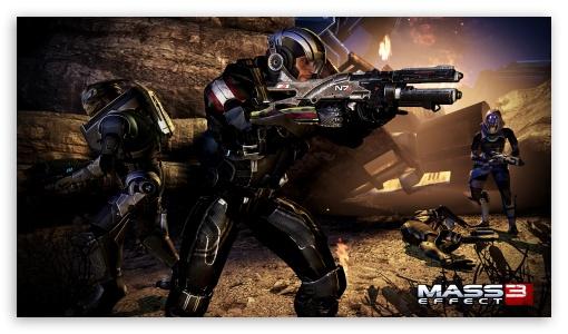 Download Shepard at Rannoch UltraHD Wallpaper