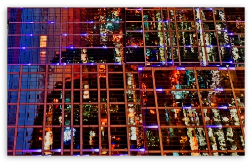 Download Glass Wall UltraHD Wallpaper