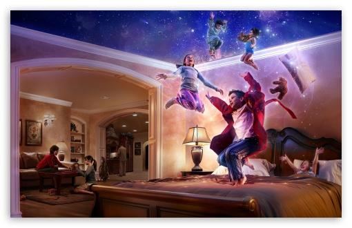 Download The Magic Of Childhood UltraHD Wallpaper