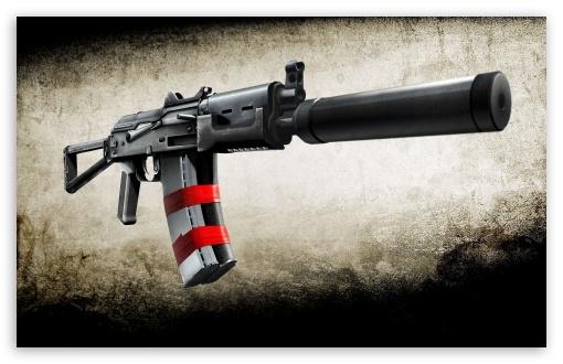 Download Battlefield Bad Company 2 Weapon UltraHD Wallpaper