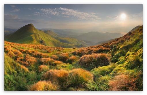 Download Mountains Slope UltraHD Wallpaper