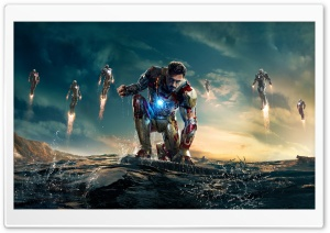 Iron Man 3 Iron Man vs Mandarin