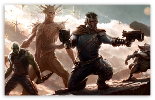 Download Marvel Guardians of the Galaxy UltraHD Wallpaper