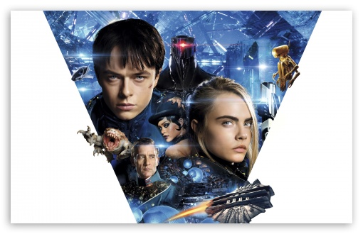Download Valerian and the City of a Thousand Planets 4K UltraHD Wallpaper